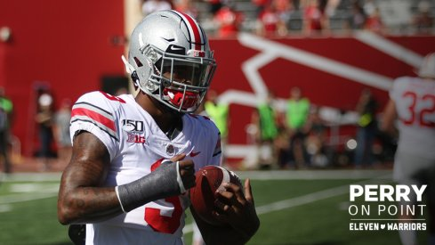 Damon Arnette had his best game as a Buckeye Saturday.