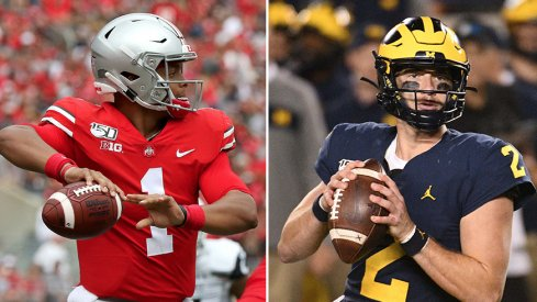 Justin Fields and Shea Patterson are off to vastly different starts this season.