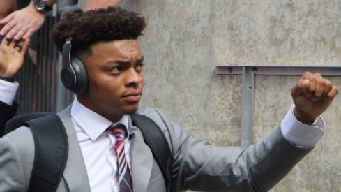 Ohio State quarterback Justin Fields