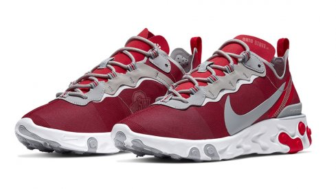 Nike Ohio State React Element 55 shoes
