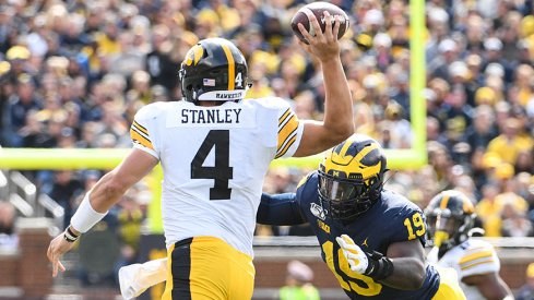 The Wolverine defense was too much for the Hawkeyes.