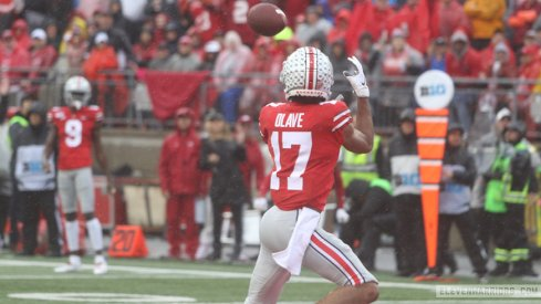 Ohio State wide receiver Chris Olave