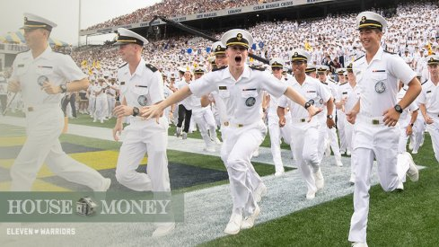 Unranked Navy is a home favorite over No. 25 SMU.