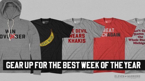 Get your gear for Michigan week.