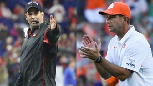 Ryan Day and Dabo Swinney