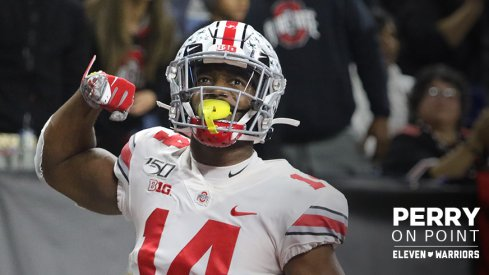 K.J. Hill came up huge for Ohio State Saturday against Wisconsin