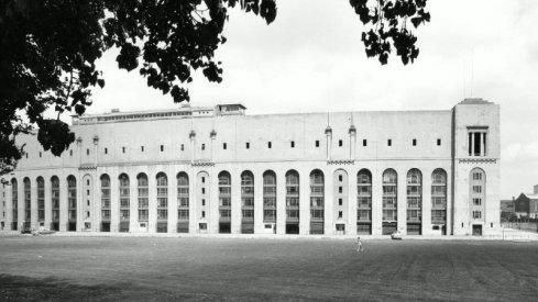 Exterior view of Ohio Stadium dormitories