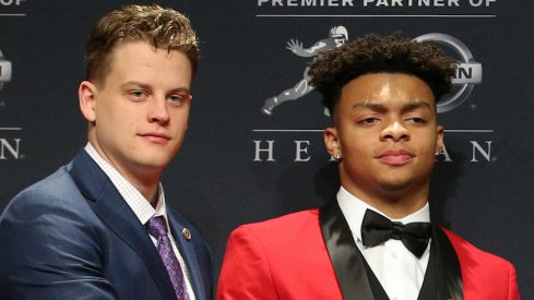 Joe Burrow thinks Justin Fields will win next year.