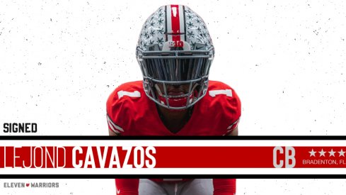 Lejond Cavazos signs with Ohio State.