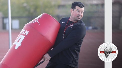Ryan Day is doing some stuff in today's skull session.