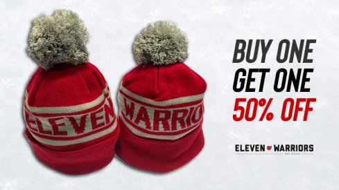 Buy one Eleven Warriors winter hat, get a second one for half off.
