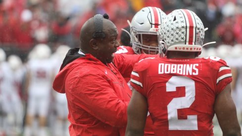 Tony Alford, Master Teague and J.K. Dobbins