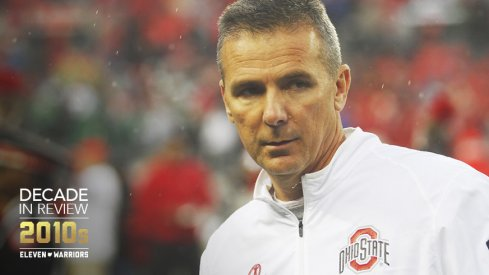 Urban Meyer against Michigan State in 2015