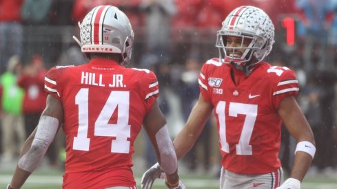 K.J. Hill and Chris Olave