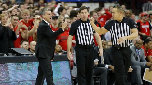 Mark Turgeon is pissed.