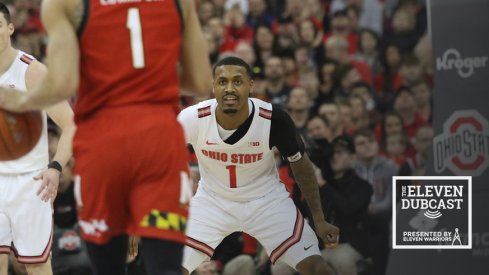 Ohio State's Luther Muhammad against Maryland