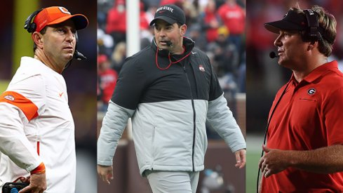 Dabo Swinney and Kirby Smart have been two of Ohio State's top rivals on the trail.