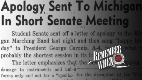 Remember when Ohio State apologized.
