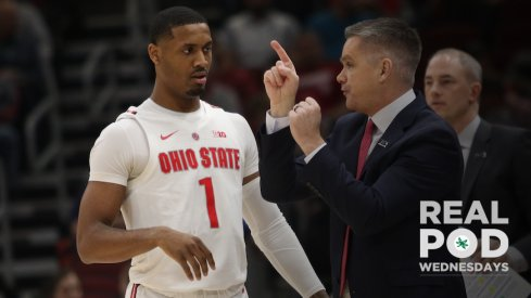 Luther Muhammad and Chris Holtmann