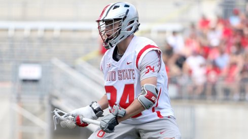 Ryan Terefenko, who will be returning for a fifth year of eligibility with the men's lacrosse team.