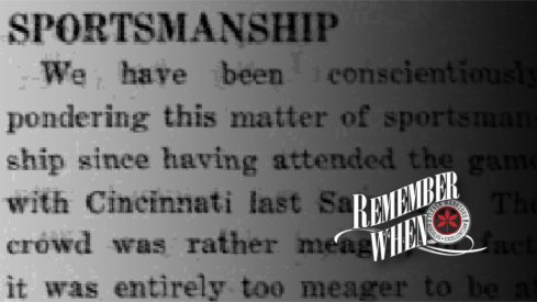 The view of sportsmanship published in The Lantern in 1931.