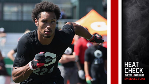 Five-star wideout Emeka Egbuka remains the top priority for Brian Hartline.