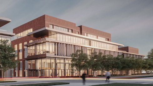 Rendering of the Timashev Family Music Building