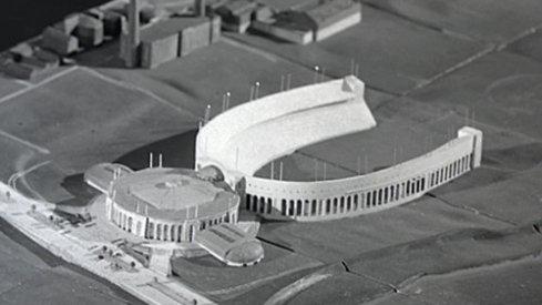 Proposed annex to Ohio Stadium from 1944.