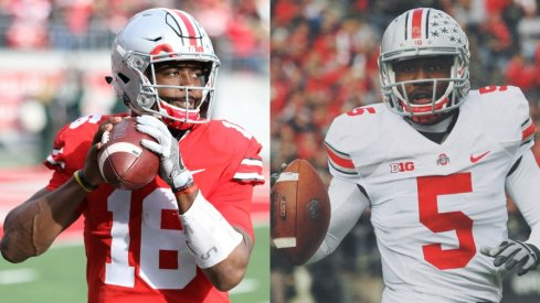 J.T. Barrett and Braxton Miller