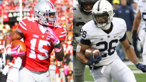 Ezekiel Elliott vs. Saquon Barkley