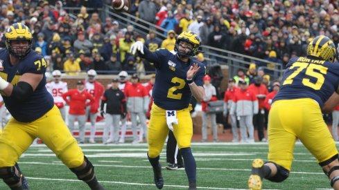Michigan's offense failed to meet expectations last season under new coordinator Josh Gattis and quarterback Shea Patterson.