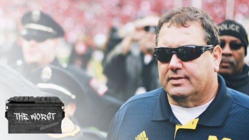 Brady Hoke, bad coach