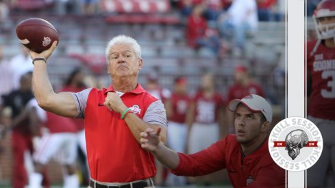 Kerry Coombs is slinging it in today's skull session.