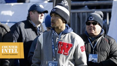 Westerville wideout Kaden Saunders announced his commitment to Penn State yesterday.