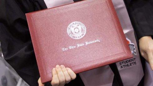 Ohio State diploma