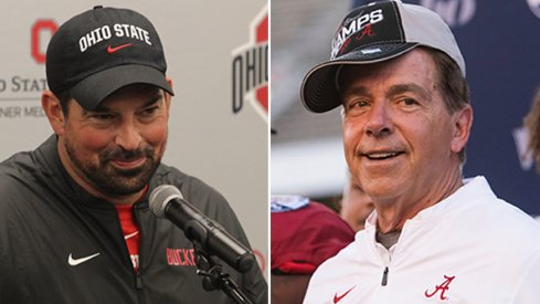 Ryan Day and Nick Saban are in a battle for the top spot in the 2021 recruiting rankings.