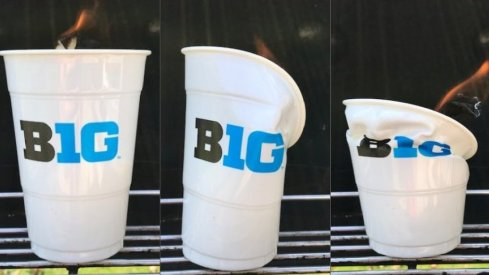 A time-lapse of Big Ten  headquarters.