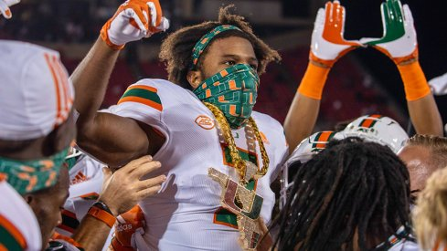 Miami went to Louisville and took down the Cardinals in the game of the week.