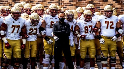 In his debut as a collegiate head coach, Jeff Hafley's BC Eagles thumped Duke.