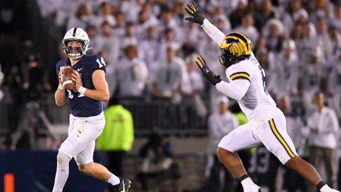 Penn State quarterback Sean Clifford