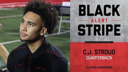 CJ Stroud loses black stripe.