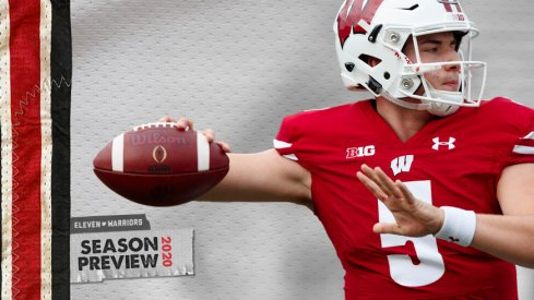 Graham Mertz is set to take over for the Badgers.