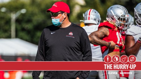 Ryan Day at Ohio State Practice