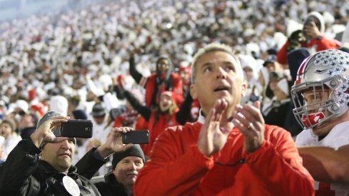 Urban Meyer talks white out.
