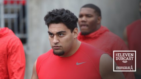 Ohio State defensive lineman Tommy Togiai