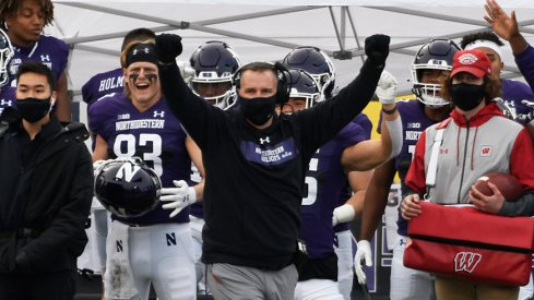 Pat Fitzgerald has taken control of the Big Ten's West Division.