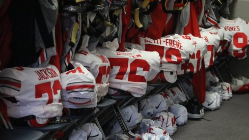 Ohio State locker room