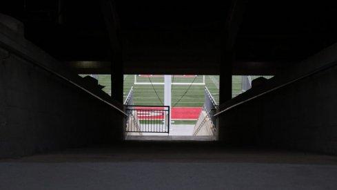 Ohio Stadium ramp.