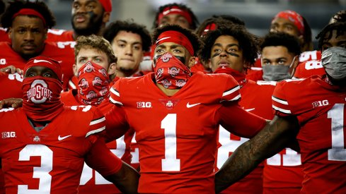 No changes in the AP, but Ohio State is now No. 4 in the Coaches Poll.