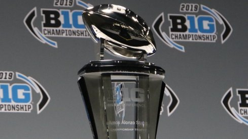 Big Ten Championship Game trophy